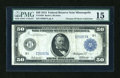 Large Size:Federal Reserve Notes, Fr. 1056 $50 1914 Federal Reserve Note PMG Choice Fine 15....