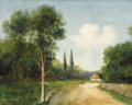Fine Art - Painting, Russian:Modern (1900-1949), ALEKSANDR IVANOVICH MOROZOV (Russian, 1835-1904). Country Landscape, 1903. Oil on canvas. 20-3/4 x 25-1/2 inches (52.7 x...
