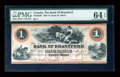 Canadian Currency: , Sault St. Marie, PC- Bank of Brantford $1 Nov. 1, 1859 Ch. #40-12-02R. ...