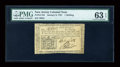 Colonial Notes:New Jersey, New Jersey January 9, 1781 1s PMG Choice Uncirculated 63 EPQ....