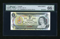 Canadian Currency: , BC-46aS 1973 $1 Specimen. ...