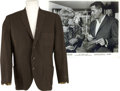 Movie/TV Memorabilia:Costumes, Glenn Ford's Screen-Worn Sportcoat....