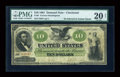 Large Size:Demand Notes, Fr. 9 $10 1861 Demand Note PMG Very Fine 20 Net....