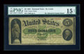 Large Size:Demand Notes, Fr. 5 $5 1861 Demand Note PMG Choice Fine 15 Net....