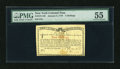 Colonial Notes:New York, New York January 6, 1776 (Water Works) 4s PMG About Uncirculated55....