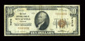 National Bank Notes:Wisconsin, Weyauwega, WI - $10 1929 Ty. 1 The First NB Ch. # 7470. ...