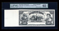 Large Size:Demand Notes, Republic of Hawaii $50 Silver Certificate 1895 Pick 14p FaceProof....