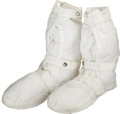 "Explorers:Space Exploration, Apollo 13 Flown Pair of ""Booties"" from the Personal Collection ofMission Commander James Lovell. ..."