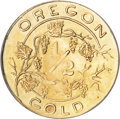 Expositions and Fairs, 1905 Lewis and Clark Exposition 1/2 Gold Token MS64 NGC....