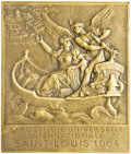Expositions and Fairs, France 1904 St. Louis World's Fair Unawarded Bronze Plaque....