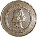 Expositions and Fairs, 1892-93 Presidents of the United States Medal, Eglit-35, MS62NGC....