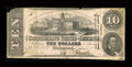 Confederate Notes:1862 Issues, T52 $10 1862 PF-9 Cr. 373.. ...