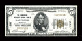 National Bank Notes:Maryland, Baltimore, MD - $5 1929 Ty. 1 The Farmers & Merchants NB Ch. #1337. ...