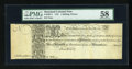Colonial Notes:Maryland, Maryland 1733 1s6d PMG Choice About Unc 58....