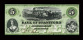 Canadian Currency: , Brantford, CW- Bank of Brantford $5 Nov. 1, 1859 Ch # 40-10-02-08b....