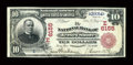 National Bank Notes:Pennsylvania, Jersey Shore, PA - $10 1902 Red Seal Fr. 613 The NB of Jersey Shore Ch. # (E)6155. ...