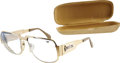 Music Memorabilia:Memorabilia, Shirley Sumner Enoch's Glasses with Case.... (Total: 2 Items)