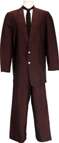 Music Memorabilia:Costumes, J. D. Sumner's Vintage Blackwood Brothers Stage-Worn Suit.... (Total: 2 Items)