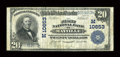 National Bank Notes:Wisconsin, Mayville, WI - $20 1902 Plain Back Fr. 657 The First NB Ch. # (M)10653. ...