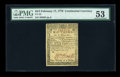 Continental Currency February 17, 1776 $2/3 PMG About Uncirculated 53