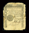 Colonial Notes:Vermont, Vermont February 1781 1s3d....