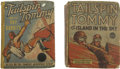 Platinum Age (1897-1937):Miscellaneous, Tailspin Tommy #1110 and 1494 Big Little Book Group (Whitman,1936-38) Condition: Average GD.... (Total: 2 Comic Books)