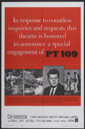 "Movie Posters:War, PT 109 (Warner Brothers, 1963). One Sheet (27"" X 41""). War...."