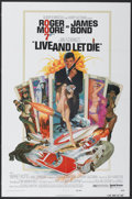 "Movie Posters:James Bond, Live and Let Die (United Artists, 1973). One Sheet (27"" X 41"").James Bond...."