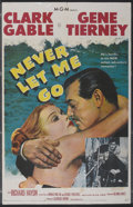"Movie Posters:Adventure, Never Let Me Go (MGM, 1953). One Sheet (27"" X 41""). Adventure...."