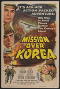 """Movie Posters:War, Mission Over Korea (Columbia, 1953). One Sheet (27"""" X 41""""). War...."""