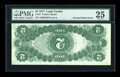 Error Notes:Large Size Inverts, Fr. 57 $2 1917 Legal Tender PMG Very Fine 25....