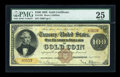 Large Size:Gold Certificates, Fr. 1201 $100 1882 Gold Certificate PMG Very Fine 25....