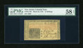 Colonial Notes:New Jersey, New Jersey March 25, 1776 15s PMG Choice About Unc 58 EPQ....