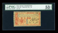 Colonial Notes:New Jersey, New Jersey March 25, 1776 £6 PMG About Uncirculated 53 EPQ....