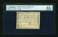 Colonial Notes:Rhode Island, Rhode Island July 2, 1780 $7 PMG About Uncirculated 55 EPQ....