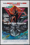 "Movie Posters:James Bond, The Spy Who Loved Me (United Artists, 1977). One Sheet (27"" X 41""). James Bond...."