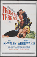 """Movie Posters:Drama, From the Terrace (20th Century Fox, 1960). One Sheet (27"""" X 41""""). Drama...."""
