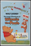 "Movie Posters:Animated, The Many Adventures of Winnie the Pooh (Buena Vista, R-1977). OneSheet (27"" X 41""). Animated...."