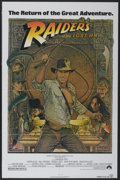 "Movie Posters:Adventure, Raiders of the Lost Ark (Paramount, R-1982). One Sheet (27"" X 41"").Adventure...."