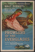"""Movie Posters:Documentary, Prowlers of the Everglades (RKO, 1953). One Sheet (27"""" X 41"""") Style A. Documentary...."""