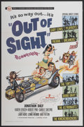 "Movie Posters:Comedy, Out of Sight (Universal, 1966). One Sheet (27"" X 41""). Comedy...."