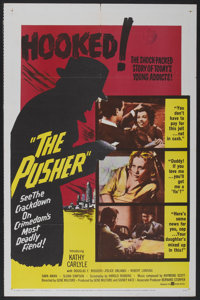 """The Pusher (United Artists, 1960). One Sheet (27"""" X 41""""). Crime"""