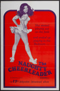 """Movie Posters:Adult, The Naughty Cheerleader (Independent International Pictures, 1975). One Sheet (27"""" X 41""""). Adult...."""