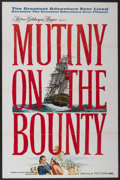 "Movie Posters:Adventure, Mutiny on the Bounty (MGM, 1962). One Sheet (27"" X 41"") AdvanceStyle A. Adventure...."