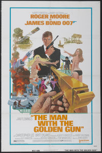 "The Man With the Golden Gun (United Artists, 1974). One Sheet (27"" X 41""). James Bond"