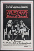 """Movie Posters:Documentary, Mustang: The House That Joe Built (Cannon, 1978). One Sheet (27"""" X 41""""). Also known as Mustang: House of Pleasure. Docum..."""
