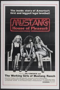 "Mustang: The House That Joe Built (Cannon, 1978). One Sheet (27"" X 41""). Also known as Mustang: House of Pleas..."