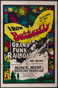 "Movie Posters:Rock and Roll, Musical Mutiny/Weekend Rebellion Combo (Cineworld, 1970). One Sheet(27"" X 41""). Rock and Roll...."