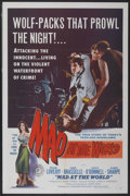 """Movie Posters:Crime, Mad at the World (Filmakers Releasing Organization, 1955). One Sheet (27"""" X 41""""). Crime...."""