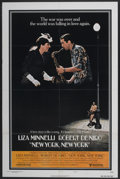 "Movie Posters:Musical, New York, New York (United Artists, 1977). One Sheet (27"" X 41""). Musical...."